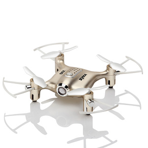 Image 5 - Syma X20 Mini Drone doré 2.4G 4CH 6 aixs télécommande hélicoptère quadrirotor Gyro poche RC Dron 3D flip enfants jouets cadeau