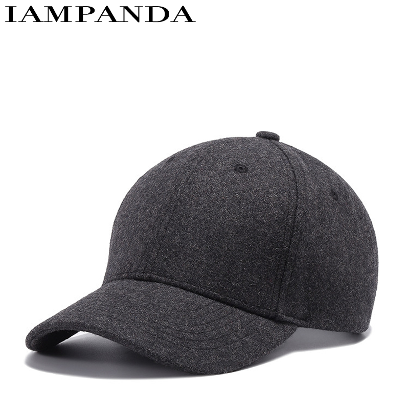 Dance Hall Customer Autumn And Winter Keep Warm Along The Bend Hats Concise Fashion Korean For Peaked Cap Male Ma'am Woolen Hat dong qu manufacturing and managing customer driven derivatives