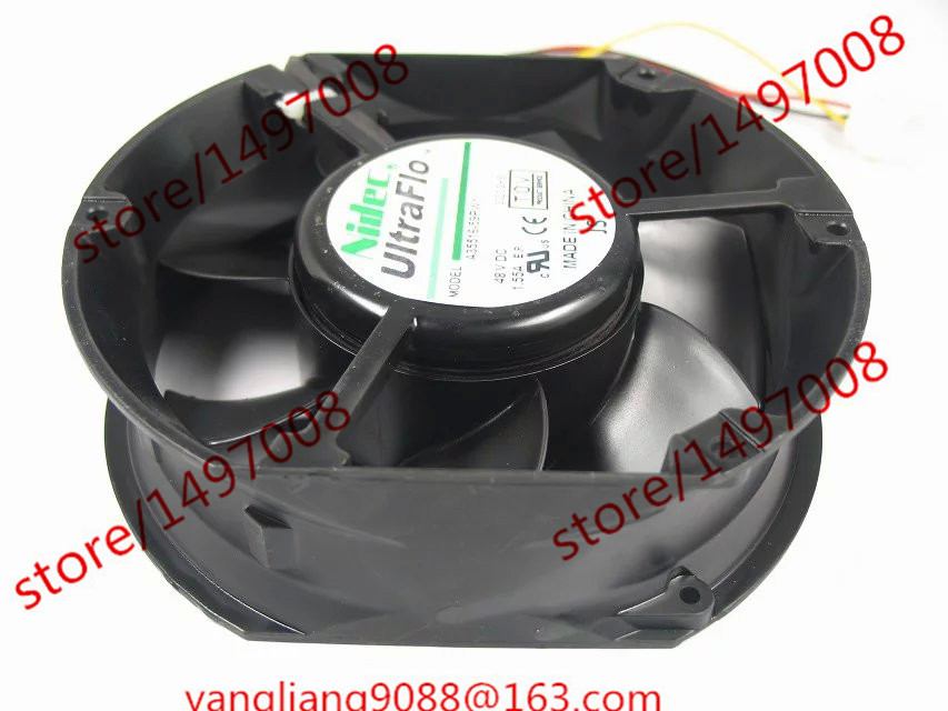 Free Shipping For Nidec A35516-59PW1 DC 48V 1.55A, 172x150x51mm 3-wire Server Square Cooling Fan  free shipping for nidec u80t24mua7 53j24 dc 24v 0 09a 80x80x25mm 3 wire server square cooling fan