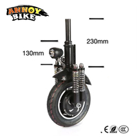High Speed 10'' Electric Bicycle Motor 48v 800w 40 45km/h 10 inch Brushless Hub Motor Gearless Electric Scooter Drive kit
