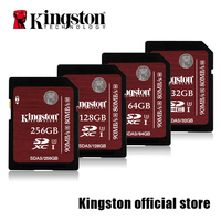 Kingston SDHC SDXC Class 10 UHS I Card SD U3 32GB 64GB 128GB 256GB