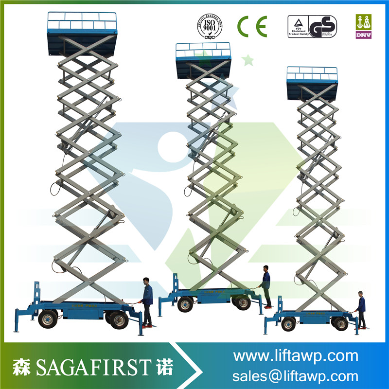 High Quality Automatic Self Propelled Electric Skyjack Lifts