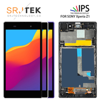 5.0 For Sony Xperia Z1 LCD Display Touch Screen For L39 L39H C6902 C6903 C6906 C6943 Digitizer Assembly /Frame 1920*1080