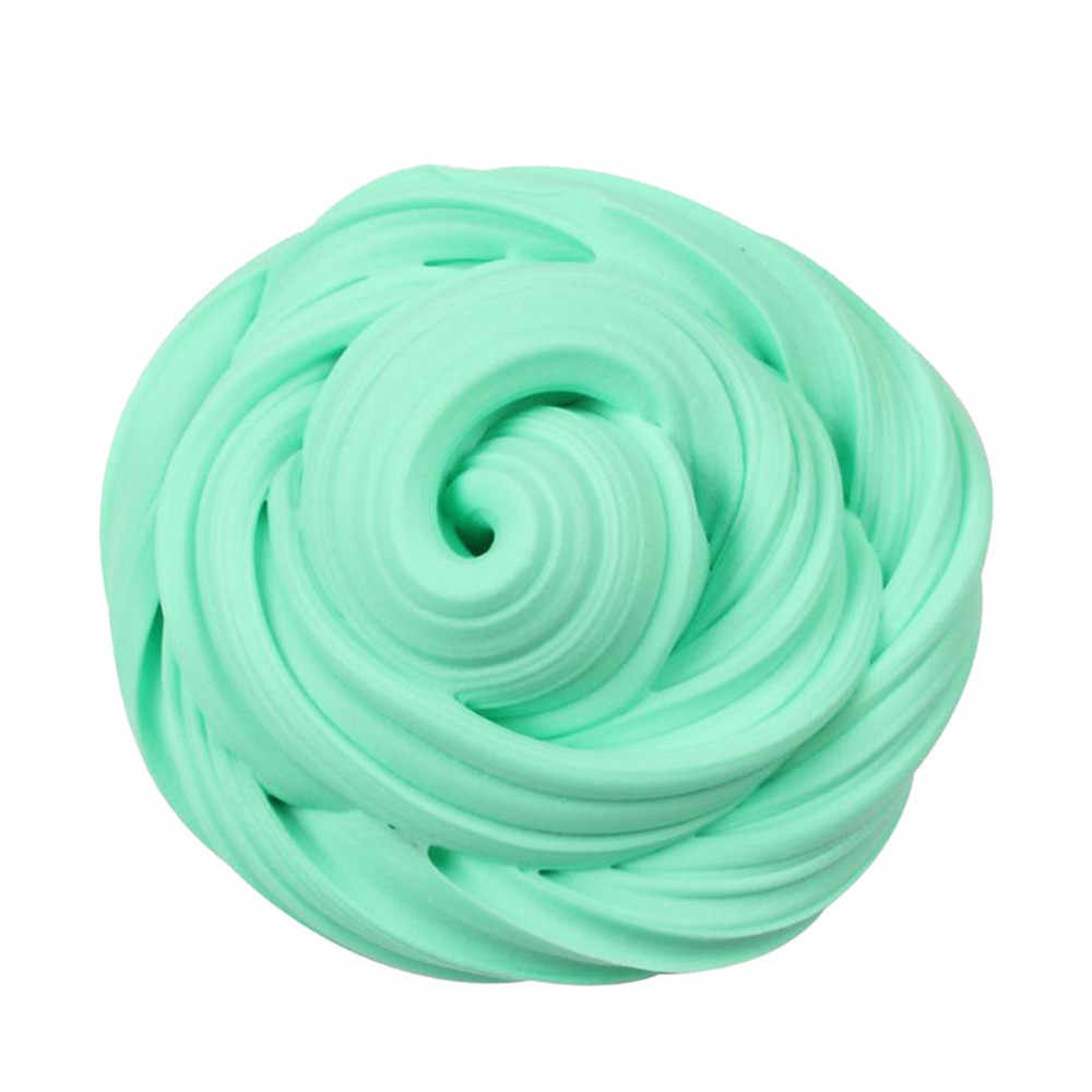 Beautiful Color Plasticine Cloud Slime Squishy slime toys Putty Scented Stress Kids Clay Toy colored clay