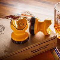 COHIBA Tasca Cigar Ashtray Holder 2 pcs Portatile di Ceramica del Sigaro di Corsa di Resto Del Basamento Del Supporto di Fumo di Sigaretta Posacenere Sigari