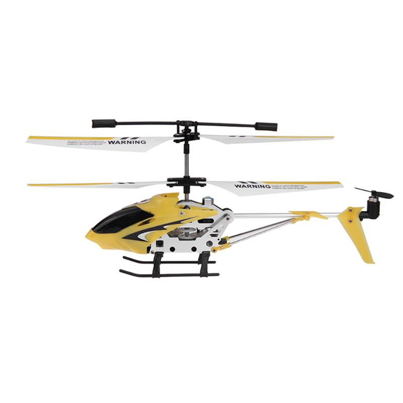 Mini Alloy 3CH RC Helicopter Toy Fall Resist Remote Control Aircraft 3 Channel Helicopter with Gyroscope