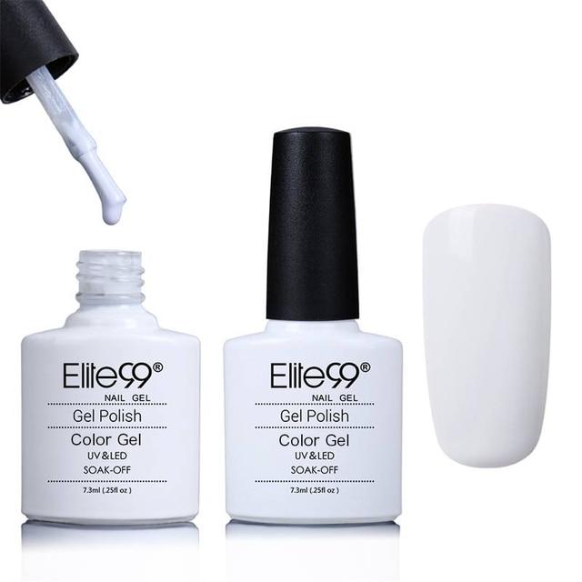 Elite99 UV Gel Nagellack Für Nail art Design Maniküre 7,3 ml Tränken Weg Emaille Gel Polnischen Nude Farbe Nagel gel Polish Lack