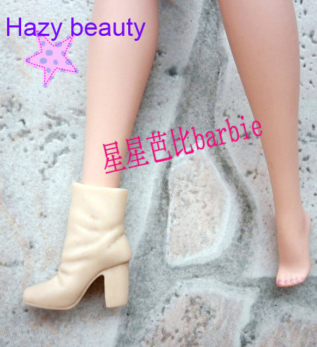 Hazy beauty different styles for choose Casual Boots High heel Dance Sports shoes  for Barbie 1:6 Doll Fashion Newest BBI00128 hazy beauty festival gifts sock stockings casual clothes trousers for barbie 1 6 doll bbi00167