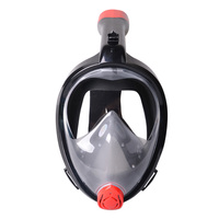 Snorkel Mask 180 Degree Panoramic Diving Anti Fog/Leak Scuba Masks with Detachable Bracket B2Cshop
