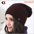 2016 Hot Sale  Unisex Knit Baggy Beanie Beret Winter Warm Oversized Ski Cap Hat