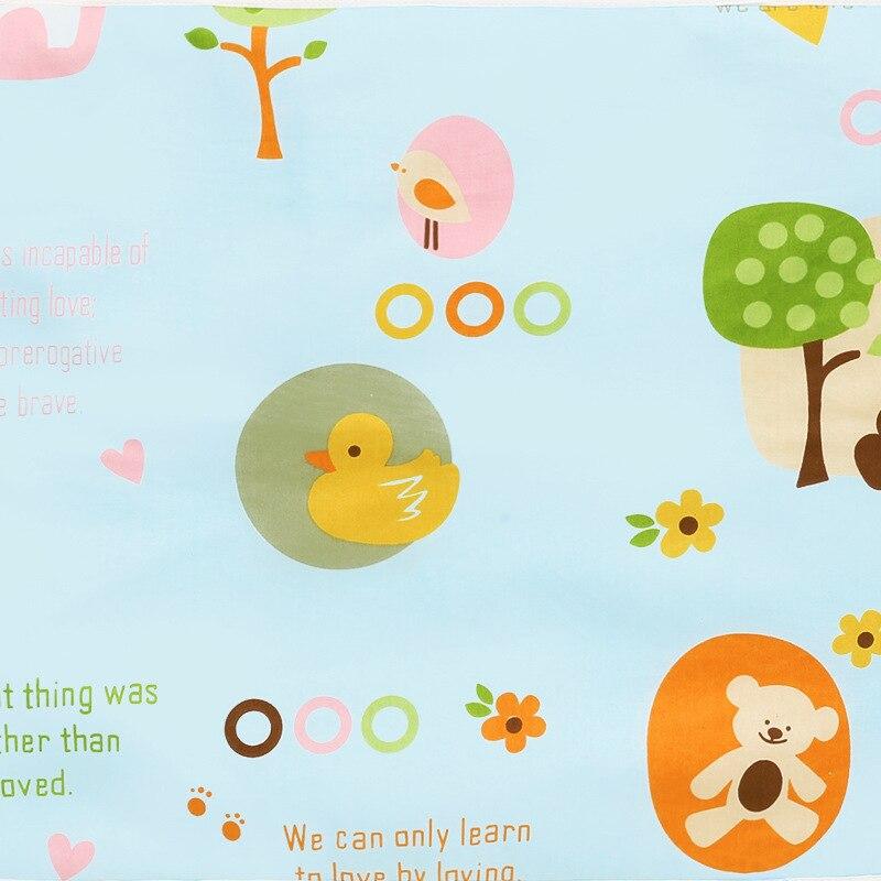 Детский водонепроницаемый матрас, мультяшная простыня, пеленка для ребенка, пеленальный коврик, хлопок, экологическая Пеленка, пеленка, пеленка для младенцев - Color: Gold