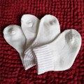 0-2 Лет 1 Пара Девочка Мальчик Новорожденных Малышей Младенческой зимние Теплые Сапоги Малыша Детские Мягкие Носки Пинетки Обувь Белый цвет