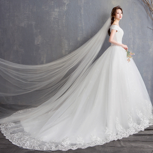 Image 4 - Fansmile New Robe de Mariage 2020 Cheap Wedding Dress China Vestidos de Novias Bridal Ball Wedding Gown FSM 626F
