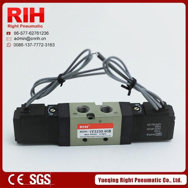 Magnetventil single coil draht führende ventil VF3230 G1/4 2 ...
