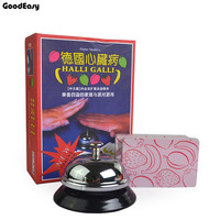 Halli Galli cards board game Fruity Extreme version with metal Bell Table Game For Family Party indoor games