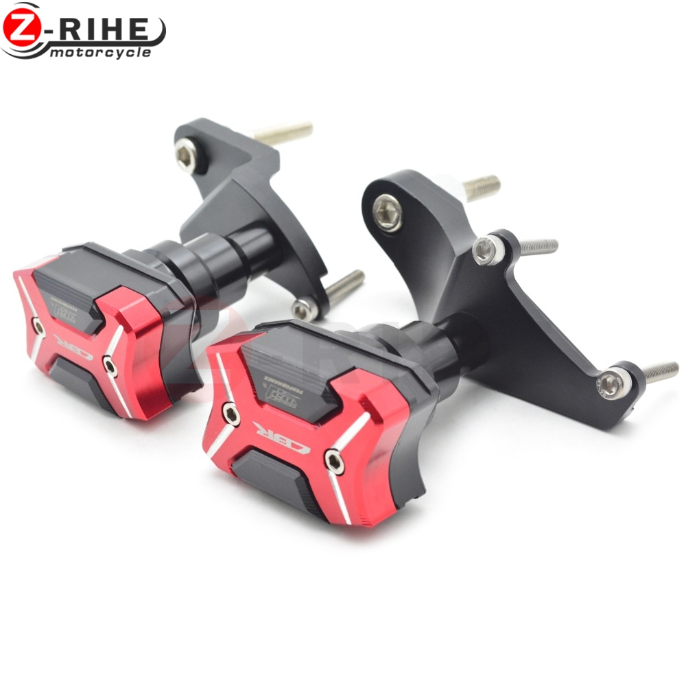 Motorcycle accessories CNC motorcycle Engine Cover Frame Sliders Crash Protector For Honda CBR500R 2013-2016