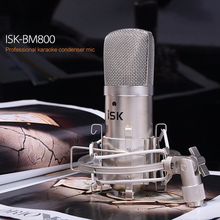 Hot Sale! ISK BM-800 condenser Microphone professional recording microphone music create broadcast and studio microphone