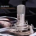 NI5L Venda Quente! isk bm-800 microfone condensador microfone profissional de gravação de música criar transmissão e microfone do estúdio