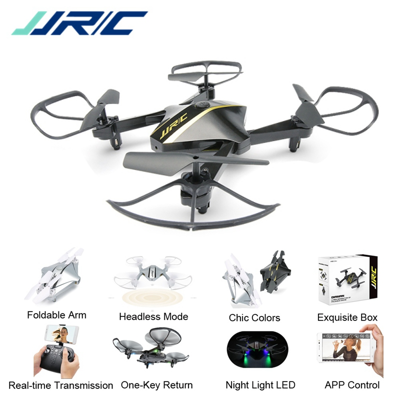 JJRC H44WH DIAMAN 720P WIFI FPV Foldable Selfie Drone With Altitude Hold Mode RC Quadcopter Helicopter RTF jjrc h39wh h39 foldable rc quadcopter with 720p wifi hd camera altitude hold headless mode 3d flip app control rc drone