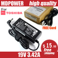 MDPOWER For Toshiba 19V 3.42A Laptop AC Adapter Charger Cord