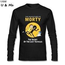 Camiseta de hip hop para hombres HU & GH, divertida camiseta de Morty con Anime para hombre, barata al por mayor, camiseta para adultos