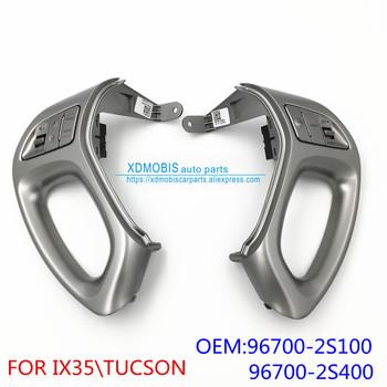 Kierownica otwarty przełącznik sterowania dźwiękiem przełącznik tempomatu dla HYUNDAI IX35 TUCSON 2009-2013 96700-2S400SAS 96700-2S100SAS tanie i dobre opinie XDMOBIS Prawo