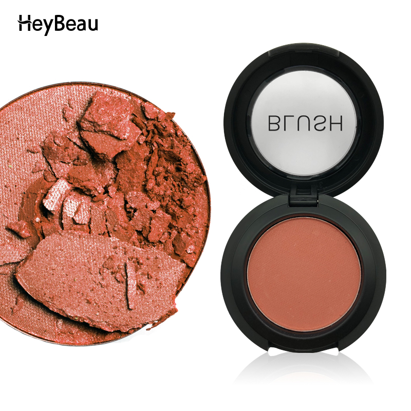 Single Colors Face Mineral Pigment Blusher Blushes palette Powder Bronzer Cosmetic Blush M