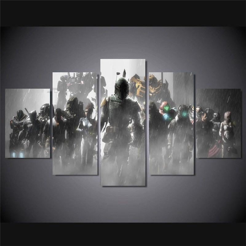 Aliexpress.com : Buy Canvas Painting Wall Art Picture prints Halo ...