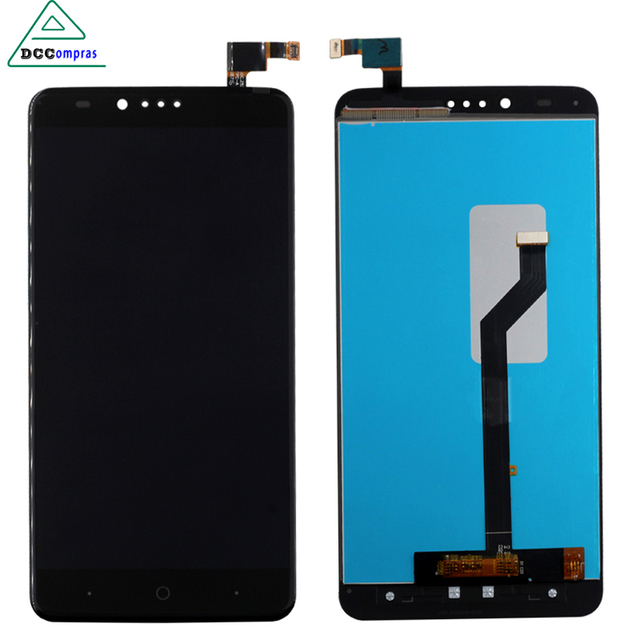For ZTE ZMax Pro Z981 LCD Display with Touch Screen Digitizer Smartphone Replacement for zte z981 Black High Quality Free Tools