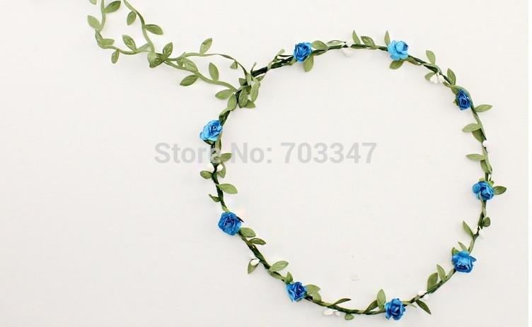 12tk / partii pruut lill juuksed garland festival pulmad õie Garland - Pühad ja peod - Foto 4