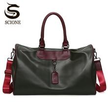 Bolsas de viaje portátiles de las mujeres bolsos de equipaje de gran capacidad a prueba de agua impermeable bolsa de viaje de las mujeres bolsos de hombro bolso crossbody