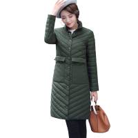 New Womens Down Jackets Autumn Ultra Thin Down Jacket Fashion Design Stand Collar Basic Down Warm