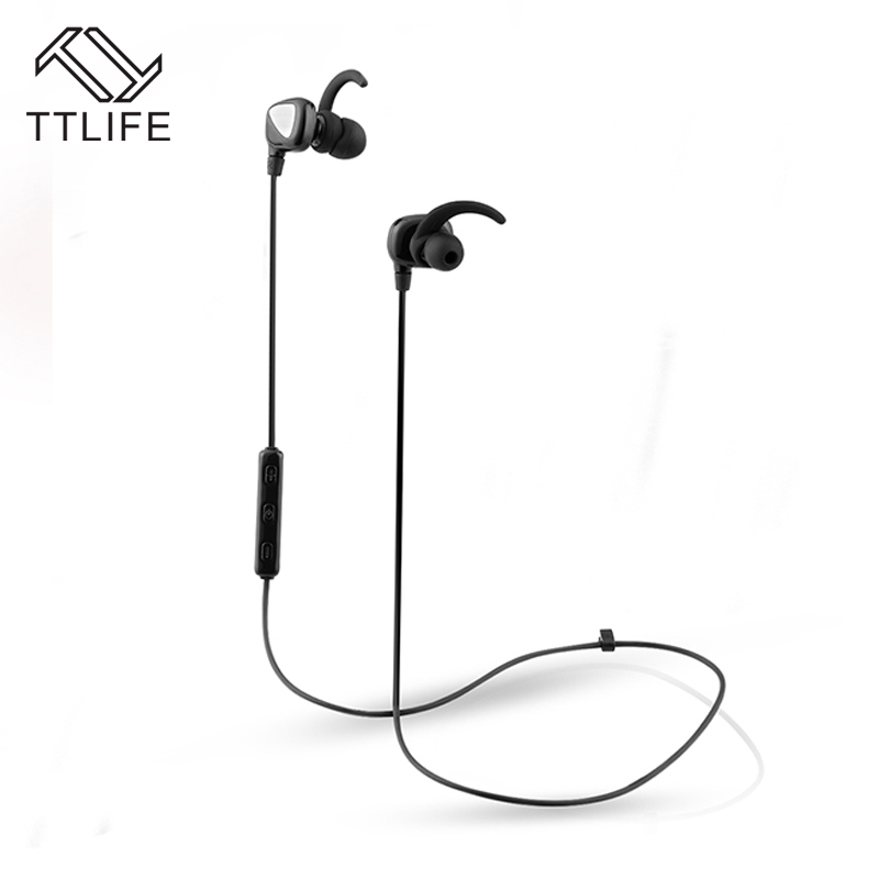TTLIFE S2 Wireless Bluetooth Headphones Stereo Sound Musical Headset Voice Control Earphones With MIC For Mobile Phone
