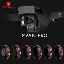 Multi Filter Kits for DJI Mavic Pro Drone Camera CPL ND4 ND8 ND16 UV Lens Filters with Protective Case