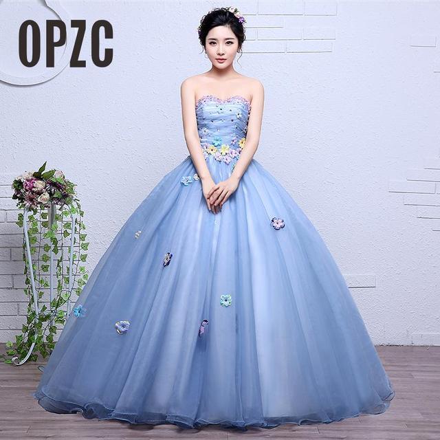 Velnosa Kolorowe Księżniczka Organza Nowa Wiosna Dziewczyna Suknia