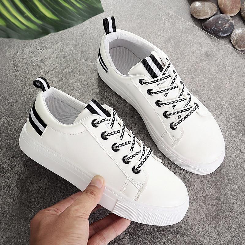 2572927c96ad54 Noir Appartements 2018 Chaussures Plates Des Femme Toile bleu Casual  Feminino L'espadrille Lacent Femmes Confortable ...