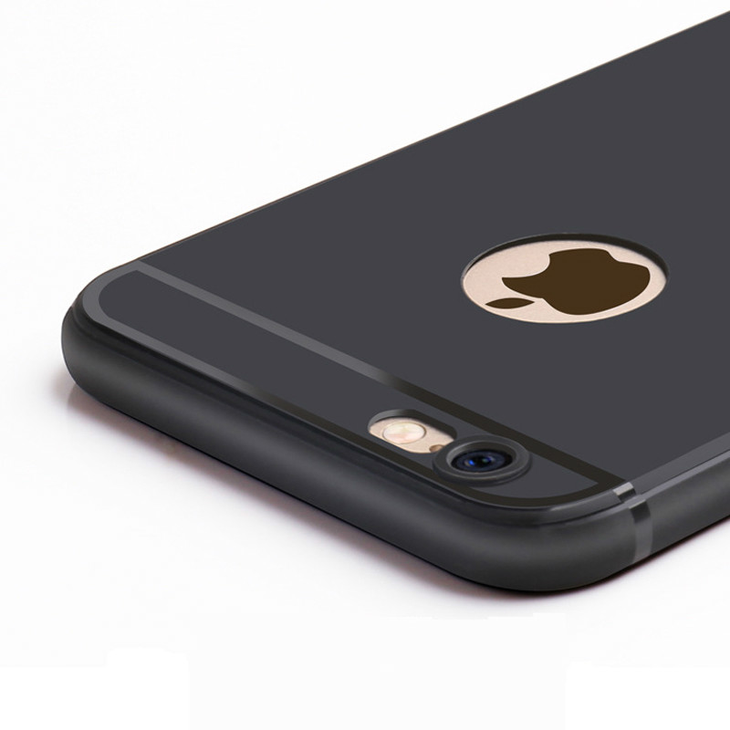 bilder für 50 teile/los telefon case für iphone 7 6 s plus 6 ultra thin weiche matte tpu silikon fällen für apple iphone7 7 plus 6 zurück case abdeckung
