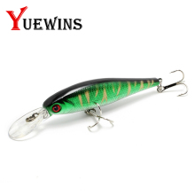 Купить с кэшбэком  YUEWINS Peche Minnow Fishing Lure 10cm 9.3g Floating Wobblers Jerkbaits  3D Eyes Artificial Bait Pike Carp Fishing Tackle TP189