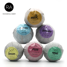 6 pcs Organic Bath Bombs Bubble Bath Salts Ball Essential Oil Handmade SPA Stress Relief Exfoliating Mint Lavender Rose Flavor 6 pcs lot mini wooden scoops for bath salts essential oil candy laundry detergent 3 bamboo bath salt spoon men women cosmetic