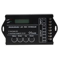 DC12 24V TC421 WiFi Time Programmable LED Time Controller 5 Channel Output Power For LED Strips