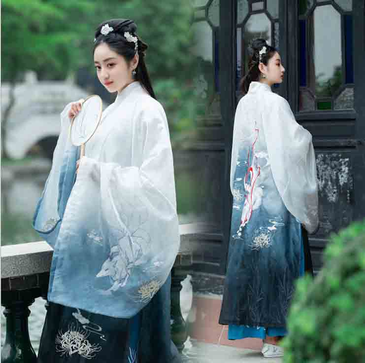 Women Hanfu Vintage Ancient Chinese Outer Coats 3 Piece Set Role Play Female Carnival Halloween Cos Costume For Lady Plus Size