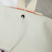 4Pcs/Set Ribbon Chain Bowknot Letter Mochila Canvas Backpack Travel Rucksacks Leisure Backpacks For Teenage Girls School Bagpack