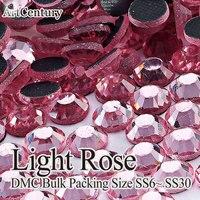 Good Quality Bulk Packing 100 Gross SS20 Glass Material Light Rose DMC Hotfix Rhinestones For Garment Accessories
