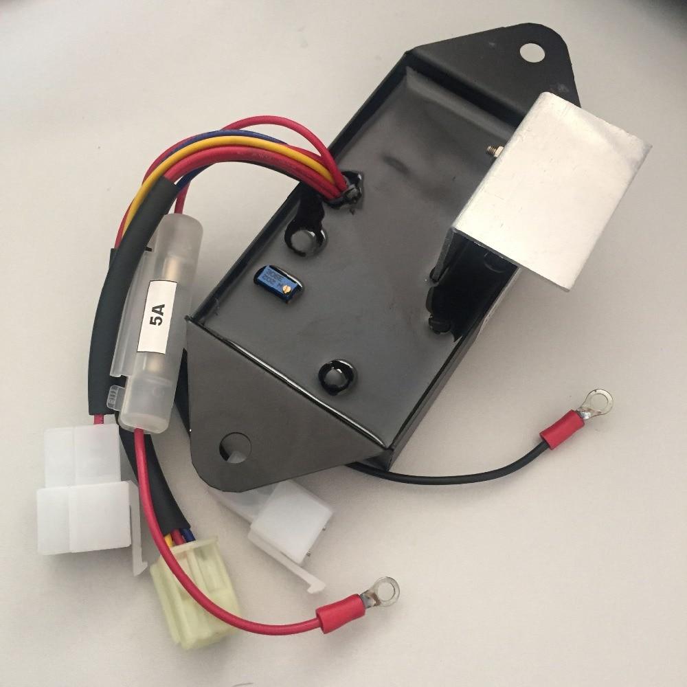 Automatic Voltage Regulator AVR For KUBOTA Generator Genset Parts J106 220V XWJ automatic voltage regulator avr for kubota generator genset parts j106 220v xwj