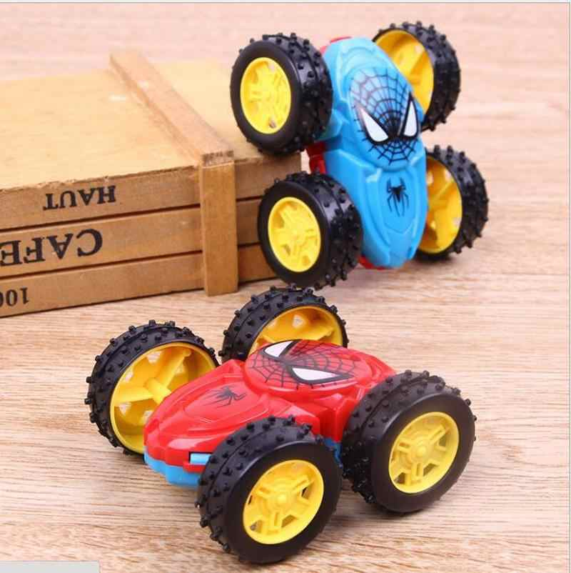 Cool Double-sided Dump Truck Inertial Car 360 Rotation Resistance to fall off Children Fashion Birthday Gifts Toy