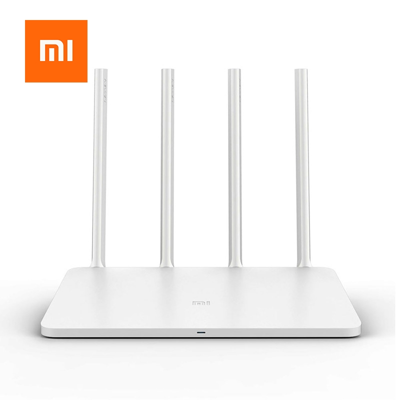 Xiaomi Mi WiFi Router 3 English Version 4 Antennas 1167Mbps 802.11ac b/g/n WIFI Dual Band 2.4G 5G APP Control Wireless Router xiaomi mi wifi mini router high security 1167mbps dual bands