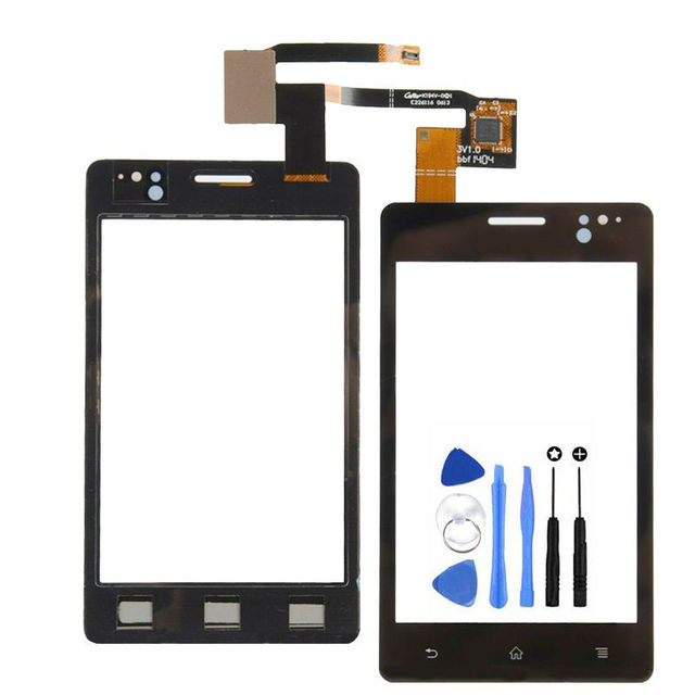 Vannego Free Shipping Replacement Front Glass Touch Screen Digitizer For Sony Xperia Go ST27 ST27i ST27A P20 with Tools