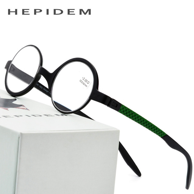 8153823dc3e1 TR90 Reading Glasses Men Ultralight Round Eyeglasses Old Women Presbyopic  Hyperopia Flexible +1.00 +1.50 +3.00