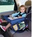 Bandeja Do Assento de Carro Criança Placa de Armazenamento À Prova De Água quente Carro de Brinquedo Suporte de mesa de Mesa Bandeja De Placa de Mesa Carrinho de Bebê Crianças Carro organizador