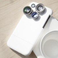 Mode Cas de Téléphone pour iphone 8 8 plus AILKIN Large-angle Selfie Caméra téléphone Protègent le Cas De Couverture pour l'iphone 6 s 6 s plus 7 7 plus